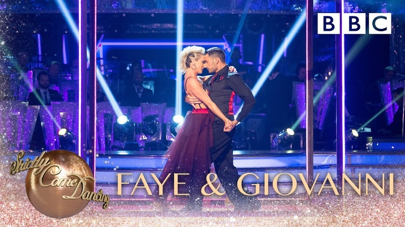 Faye Tozer and Giovanni Pernice Tango to 'Call Me' by Blondie BBC Strictly 2018