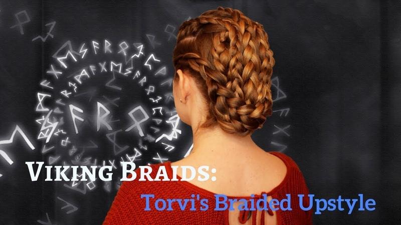 Viking Inspired Braids Torvis Braided Upstyle