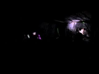 Световое шоу от PsyLight на третьем ежегодном фестивале GNЁZDA Урал