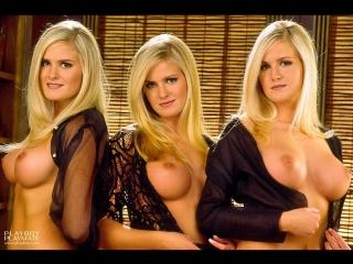Dahm Triplets  nackt