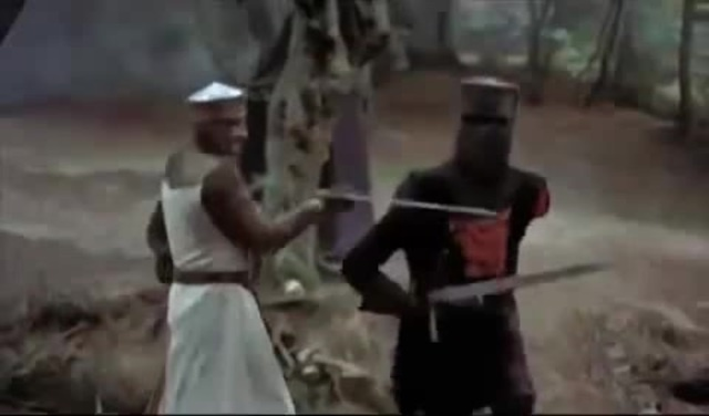 Monty Python and The Holy Grail Black Knight