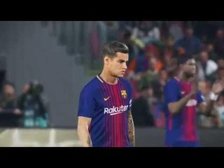 Barcelona vs Real Sociedad / Full Match & Goals 2018 / PES 2018 Gameplay PC