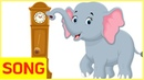 Hickory Dickory Dock Mother Goose ❤︎ Songs for Kids Nursery Rhymes Cartoon Animation | LimeAndToys
