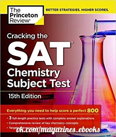 ing the SAT Chemistry Subject Test, 15th Edition
