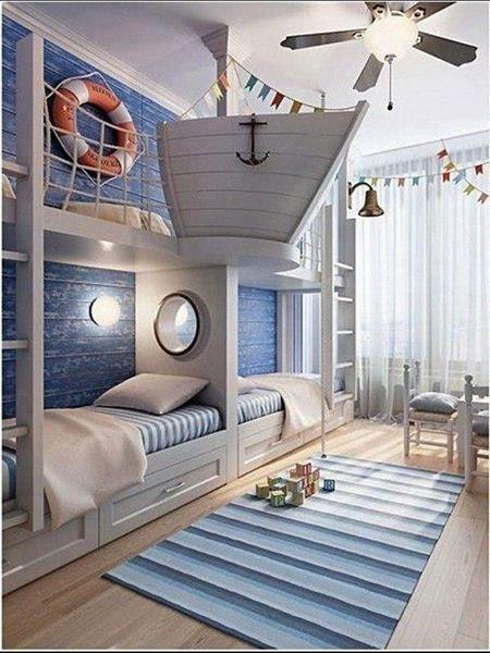 Дизайн интерьера в морском стиле, изображение №13