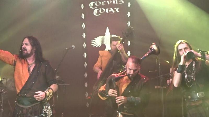 Corvus Corax Totus Floreo Live in SPb 13 04 2019