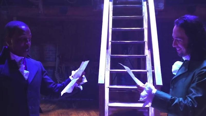 Iain's Rewrite of Hamilton performed by Lin Manuel Miranda and Leslie Odom Jr