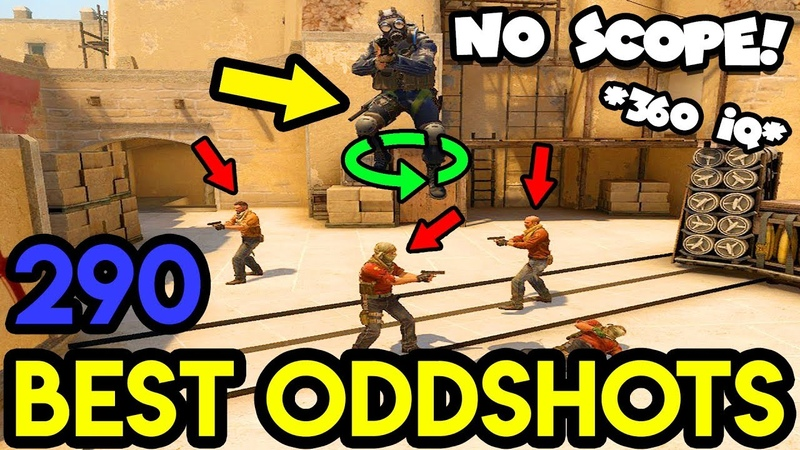 360° IQ PLAY ! *EPIC MLG* - CS:GO BEST ODDSHOTS 290