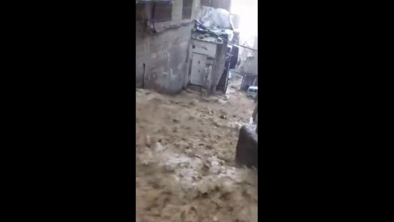 طوفان دمشق للمرة الثالثة في أسبوع 2 1-5-2018 15-8-1439