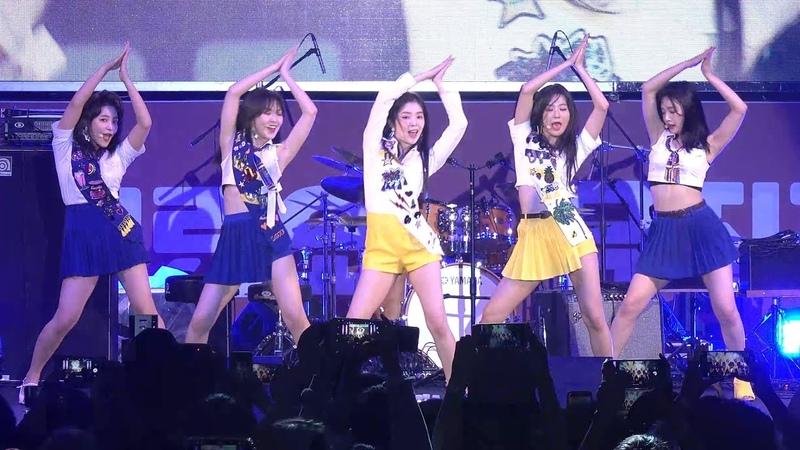 180916 레드벨벳 Red Velvet 파워업 Power Up 4K 직캠 @ 어제그린오늘 뮤직 페스티벌 by Spinel AX700 촬영