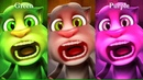 Learn Colors with My Talking Tom Colours for Kids Animation Education Cartoon Compilation P1A