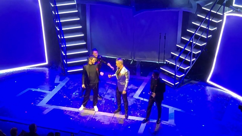Take That featuring Robbie Williams The Flood Haymarket Theatre 04 12 18