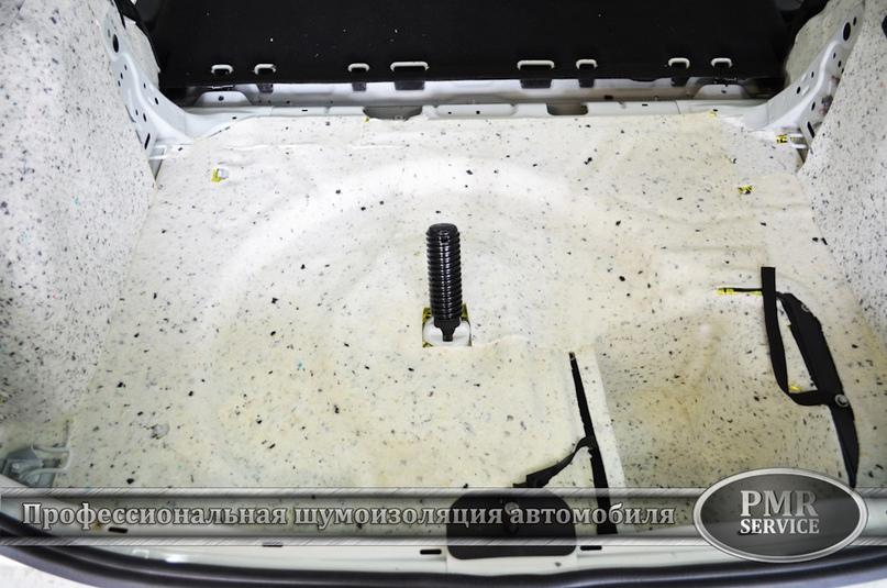 Шумоизоляция Skoda Yeti, изображение №19