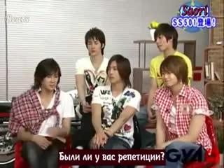 Ss501 asian beauty boys 2-5 (rus sub) [fsg bears]
