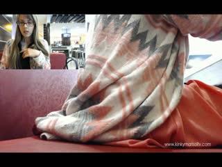 [маnуvids] кinkумаrisоl - my first public anal video (720p) [amatuer, teen, solo, masturbation, dildo, glasses, public, anal]