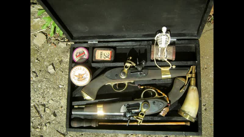 Пара дуэльных (пиратских) пистолетов Черный жемчуг