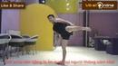 Kỹ Thuật Đá Giật Gót Hook Kich Trong Taekwondo | Học Võ Tại Nhà Bài 57
