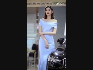 Desperate asian car show model