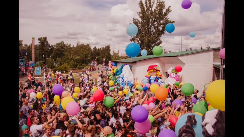 Шоу шаров 2019! Парк Кырлай