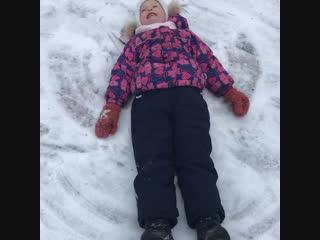 Снежный ангел 👼
