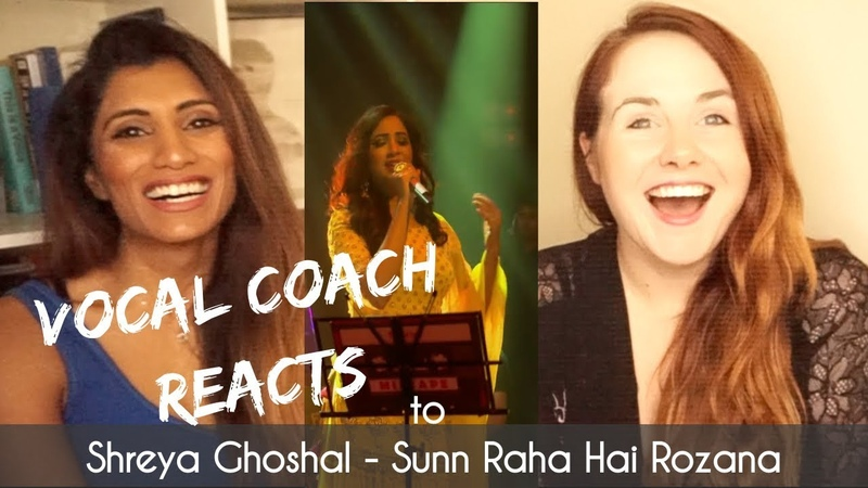 Vocal Coach and UA Director reacts to Shreya Ghoshal singing Sunn Raha Hai/Rozana