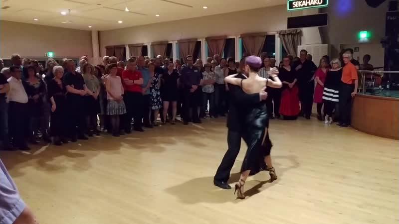 Алексей Барболин Хельга Домашова Выступление в танцевальном зале Напис Финляндия 30 04 2019 1 4