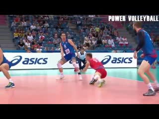 CRAZY Volleyball Attacks. Monster 3rd Meter Spikes (HD)