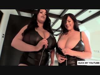 BIG BOOBS DUETS #2 RACHEL ALDANA LEANNE CROW(BIG TITS MODELS)