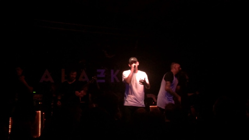 ALAZKA / this could be anywhere in the world (ALEXISONFIRE cover) - (live) [Circolo Svolta]