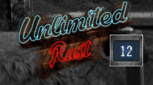 Rust UNLIMITED account 12 Year Badge 7LVL