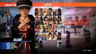Dead or Alive 6 - Gameplay ONLINE ELIOT vs HELENA RANKED MATCH (720p60 HD)