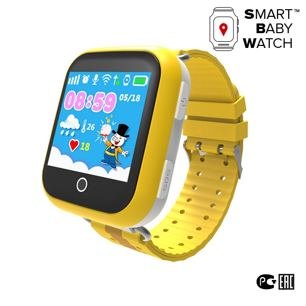 Wonlex GPS Kids Watch GW1000 Yellow 3340₽