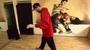 Хип-хоп танцы – школа Урок 7 Bart Simpson, Running man, Kick Step