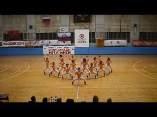 Foxes 2019 aerobics 80's