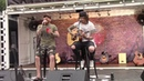 Ben Bruce and Danny Worsnop of Asking Alexandria private Zippo Sessions Carolina Rebellion 2018