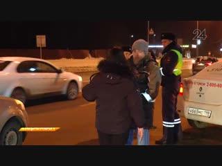 Два автомобиля Renault столкнулись на Горьковском шоссе