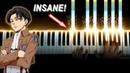 INSANE Attack on Titan / 進撃の巨人 OP Piano Cover - ピアノ