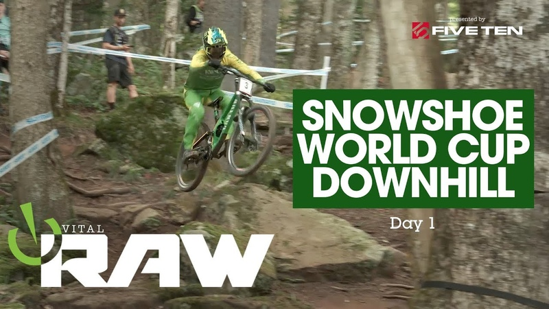 BIG ROCKS BACKFLIPS! Vital RAW, Snowshoe World Cup Downhill