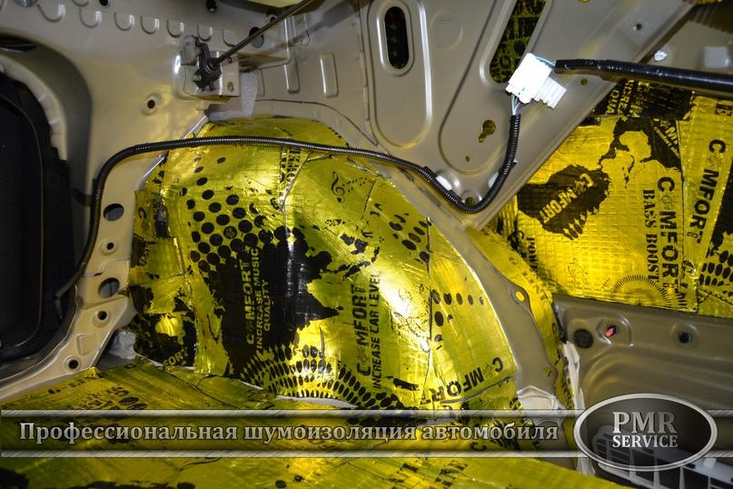 Комплексная шумоизоляция Toyota Camry, изображение №10