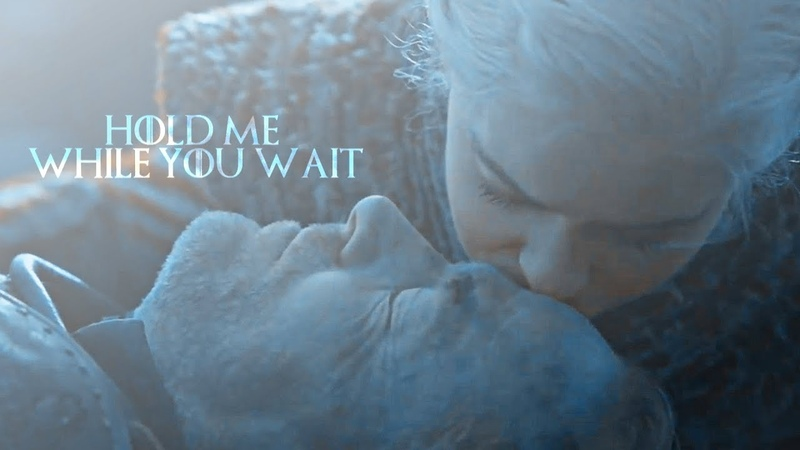 Jorah Daenerys hold me while you wait 8x04