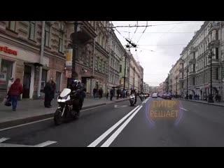 Закрытие мотосезона в петербурге