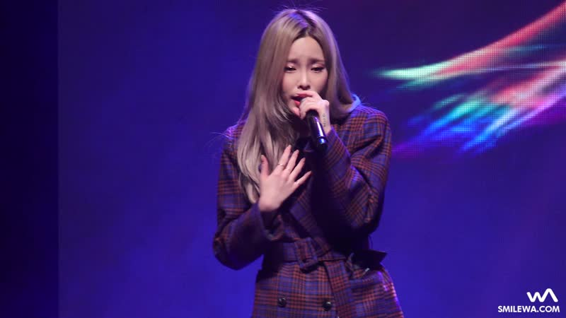 171117 Heize - 돌아오지마 @ Hongcheon Soldiers Day
