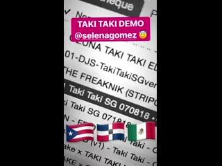 2019  Публикация DJ Snake в Instagram Stories.