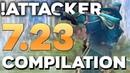 Attacker BEST Kunkka in Dota 2 EPIC 7 23 Patch Gameplay Compilation