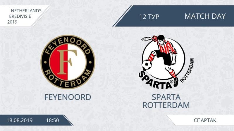 AFL19 Netherlands Eredivisie Day 12 Feyenoord Sparta Rotterdam