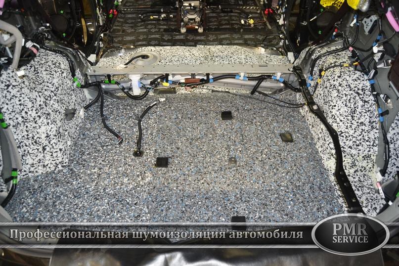 Шумоизоляция Lexus LX, изображение №8