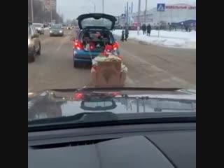 Дед мороз в Подольске