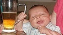 TRY NOT TO LAUGH ★ Funny Babies Prefer Beer To Milk ★ Funny Babies and Pets