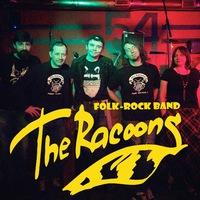 Логотип The Racoons, folk-rock band