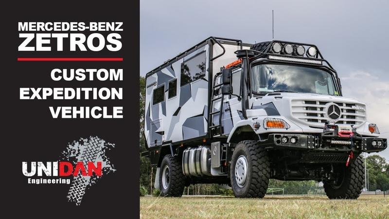 Mercedes Benz Zetros Unidan Discovery UNIDAN ENGINEERING